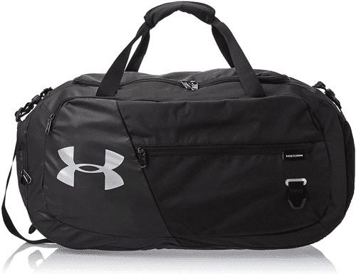 an image of an under armour duffel gym bag - one of our gift ideas for 17 year old boy