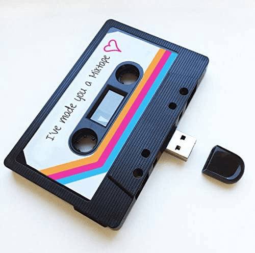an image of a usb mixtape