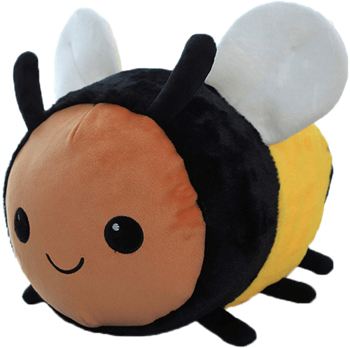 an image of a bumble bee plush toy - one of our ideas of bee gifts for kids