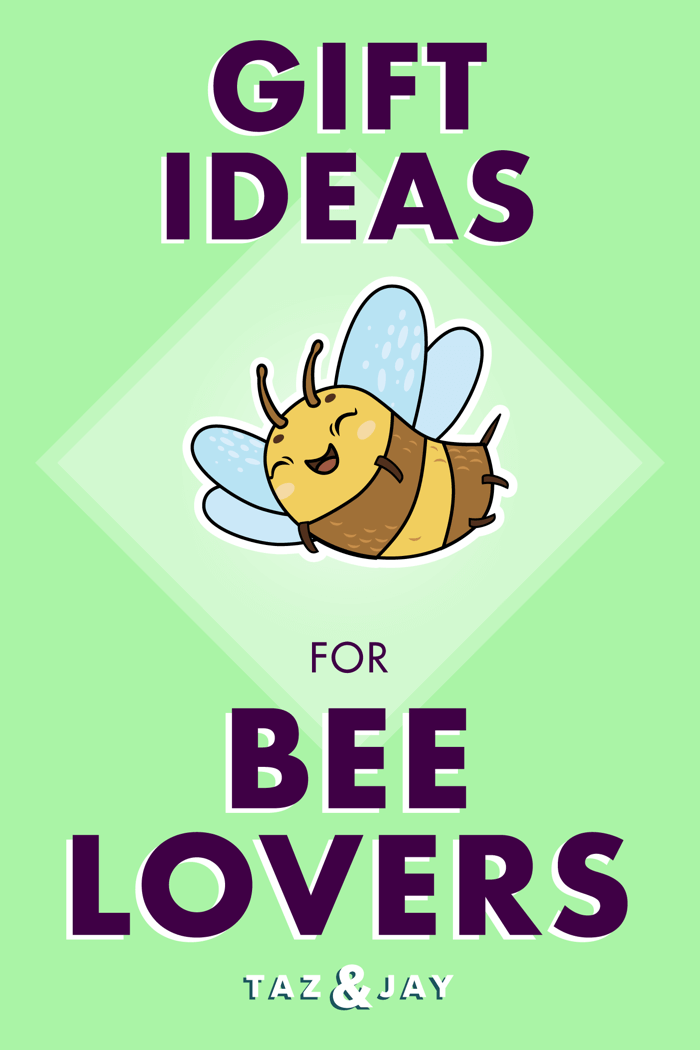 bee gifts pinterest pin image