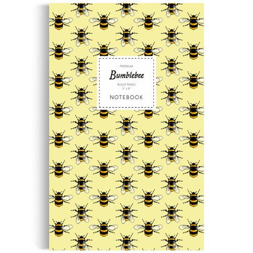 an image of a bumble bee notebook - one of our bee inspired gifts