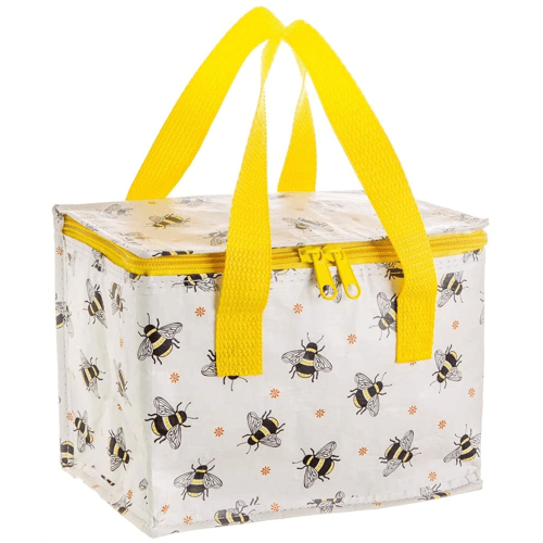 an image of a busy bees lunch bag - one of our ideas of gifts for bee lovers