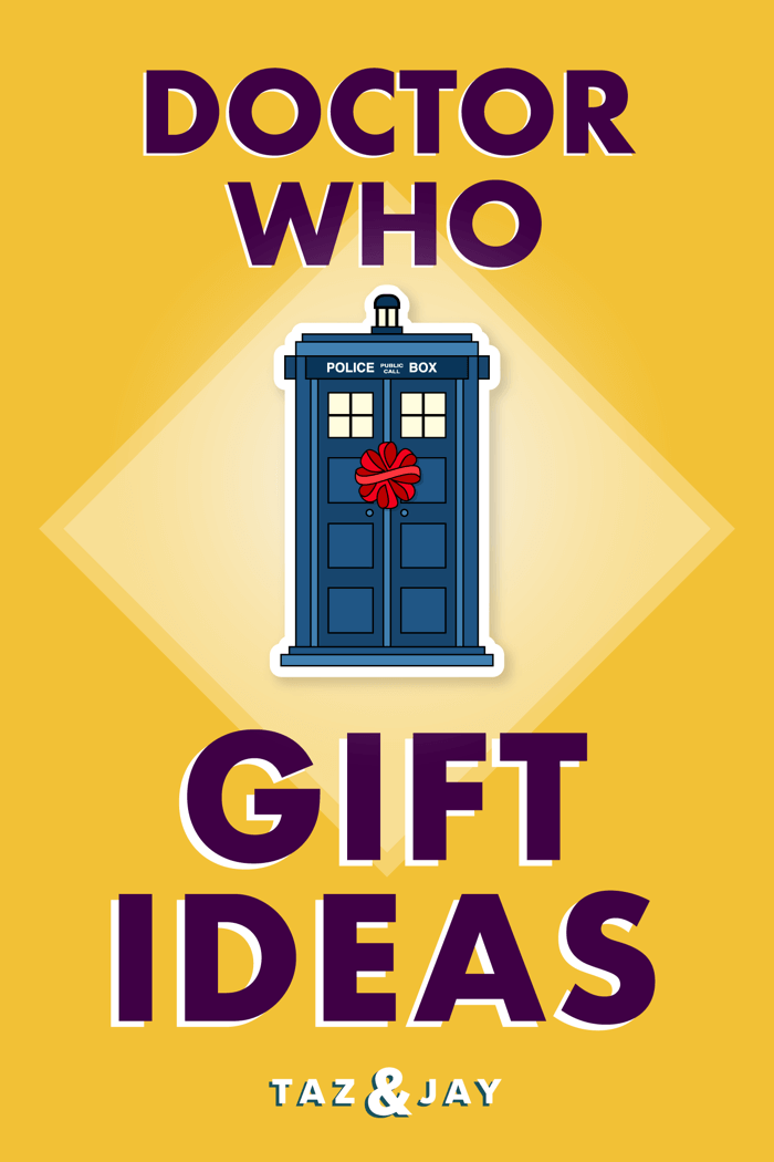 doctor who gifts pinterest pin image