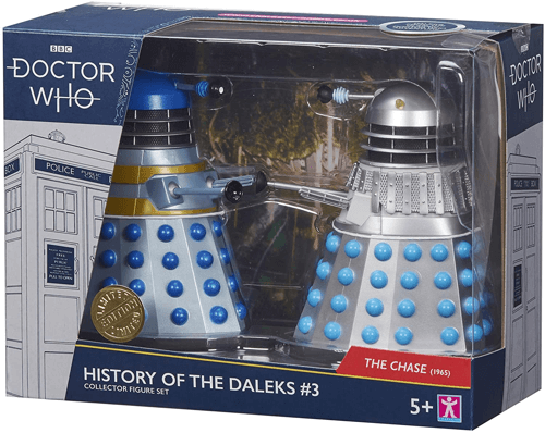 an image of the doctor who history of the daleks doctor who action figures