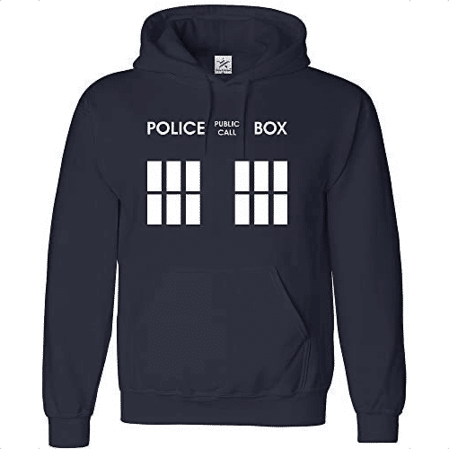 an image of a doctor who inspired hoodie
