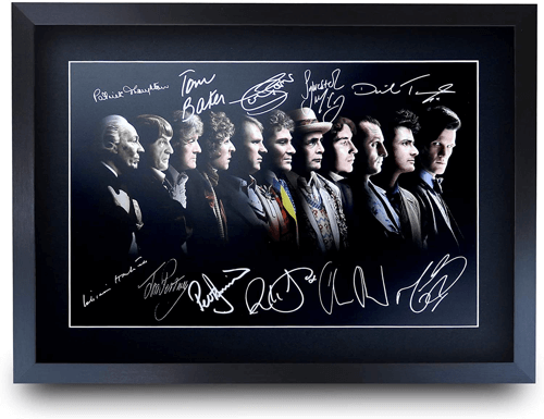 an image of a framed a3 signed print