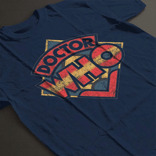 an image of a doctor who t-shirt for men - one of our picks of doctor who gifts for him