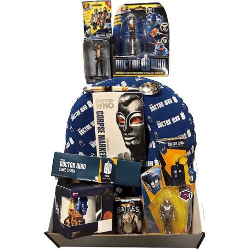 an image of a doctor who mystery gift box - ideal if you are looking for doctor who christmas gifts or ones for birthdays
