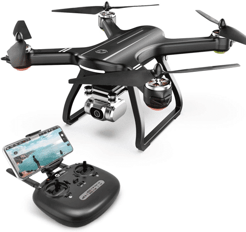 an image of a drone with camera