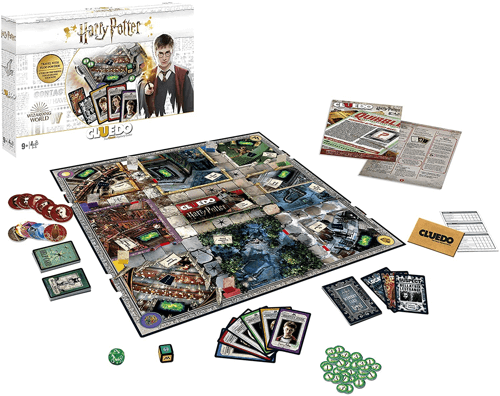 an image of a harry potter cluedo game - one of our ideas of gifts for harry potter fans