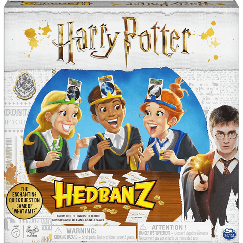 an image of a harry potter hedbanz game for kids - one of our picks of harry potter gifts for kids