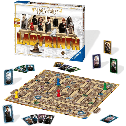 an image of a harry potter labyrinth game