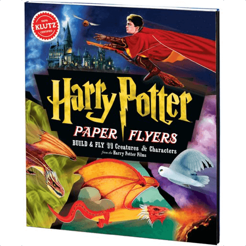 an image of a harry potter paper flyers instructions book - one of our ideas of gifts for harry potter fans