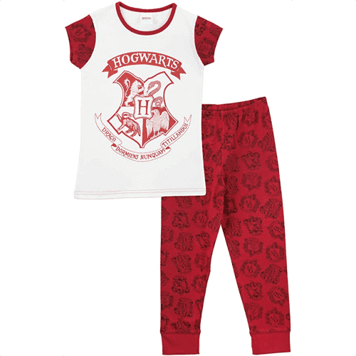 an image of hogwarts themed pyjamas for girls