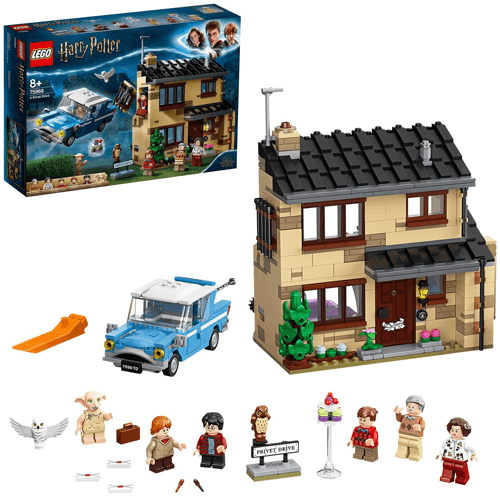 an image of a lego privet drive set