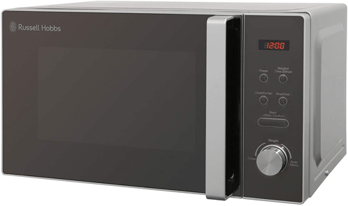 an image of a russell hobbs compact microwave