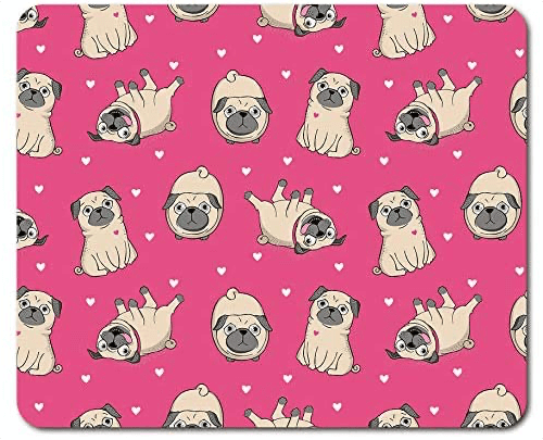 an image of a cute dog themed mouse mat