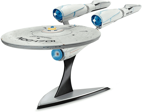 an image of a revell uss enterprise model kit
