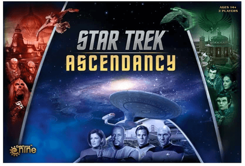 an image of the star trek ascendancy board game - one of our picks of gifts for star trek lovers