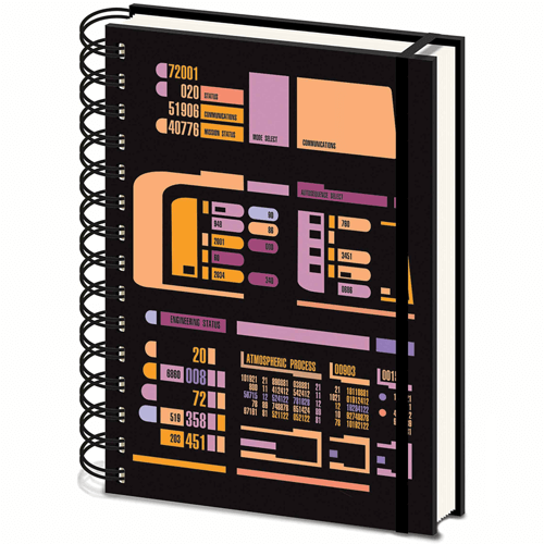 an image of a star trek control panel a5 notebook