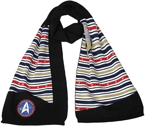 an image of a star trek starfleet command scarf