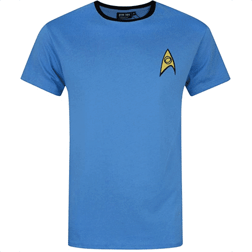 an image of a star trek t shirt for men - one of our picks of star trek for him