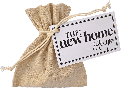 an image of the little new home recipe gift bag - one of our picks of gifts for new home owners