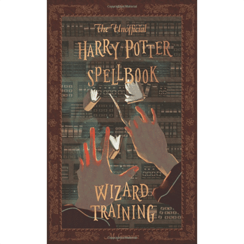 an image of the unofficial harry potter spellbook sub-titled wizard training