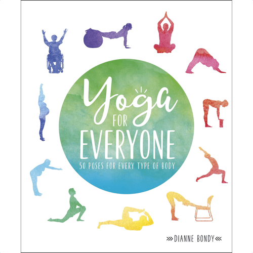 an image of a book called yoga for everyone