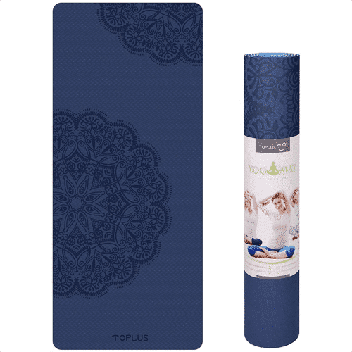 an image of a non slip yoga mat - one of our picks of yoga gifts for him or her
