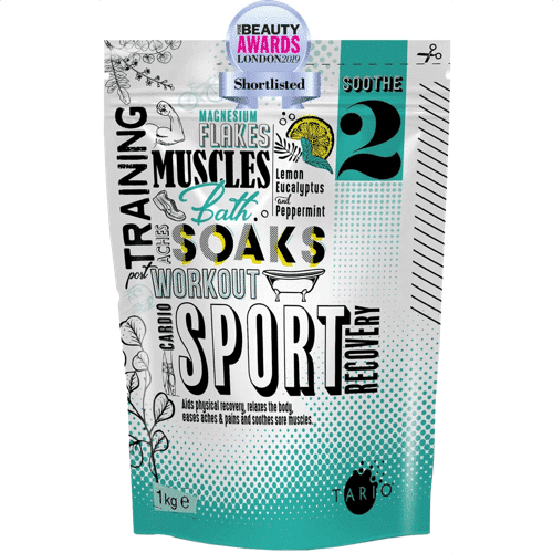 an image of natural recovery bath salts - one of our yoga gift ideas