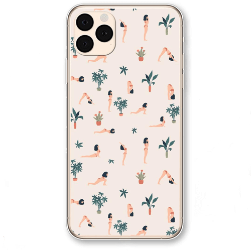 an image of a yoga inspired phone case