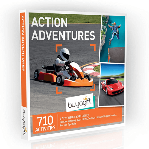an image of the smartbox action adventures gift experience - one of our suggestions for unique 30th birthday gifts for him