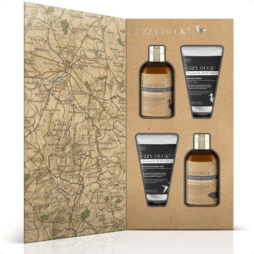 an image of the baylis and harding fuzzy duck men's grooming gift set - one of our suggestions of 30th birthday gifts for him