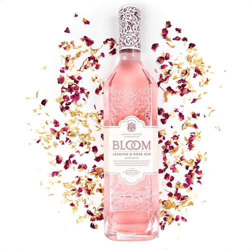 an image of jasmine and rose pink gin
