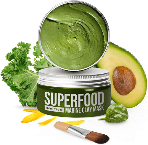 an image of a vegan dead sea mud mask - one of our ideas of gifts for vegans