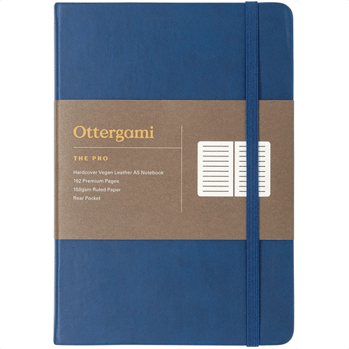 an image of a luxury leather journal