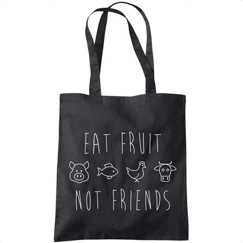 an image of a vegan tote bag - one of our vegan gift ideas