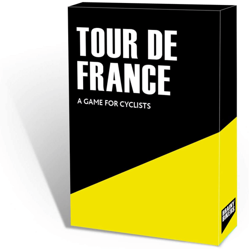 an image of the brainy bikers tour de france game