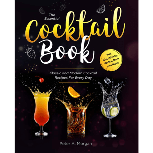 an image of the essential cocktail book - one of our ideas of cocktail related gifts