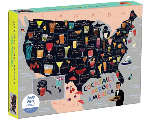 an image of a cocktail map of the usa puzzle