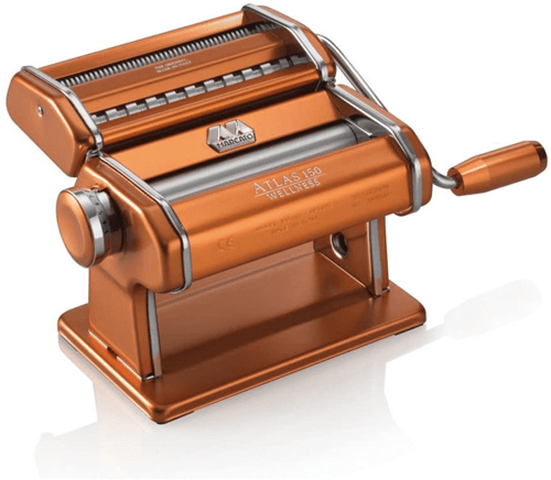 an image of the Marcato Atlas 150 copper pasta machine