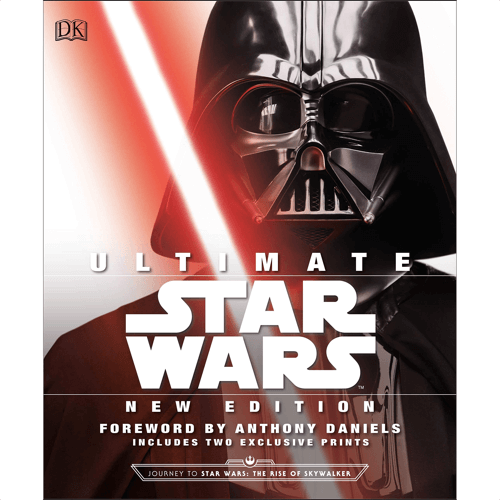 an image of the definitive guide to star wars book - one of our picks of starwars gifts