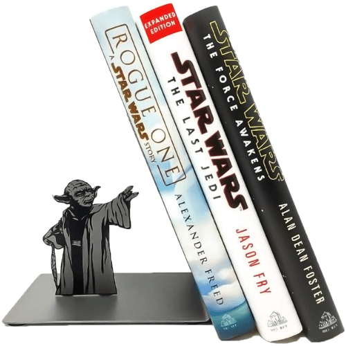 an image of a yoda bookend