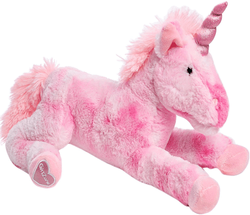 an image of a plush unicorn teddy - one of our picks of cool unicorn gifts