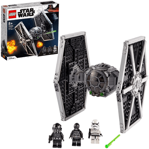 an image of a lego star wars toys tie fighter set