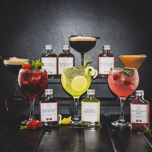 an image of a pre-mixed cocktail gift set