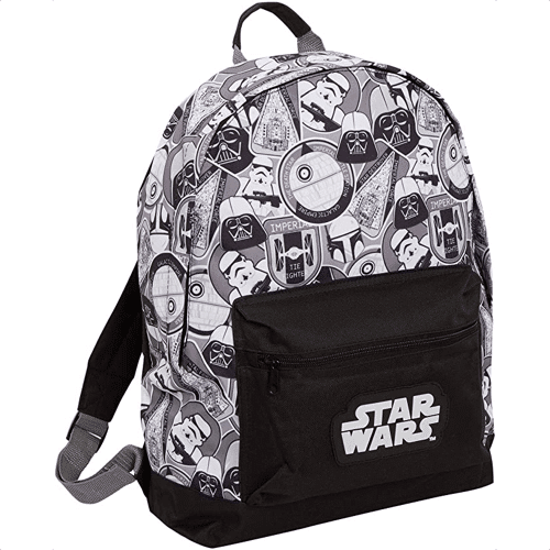 an image of a star wars backpack - one of our suggestions of star wars gifts for boys