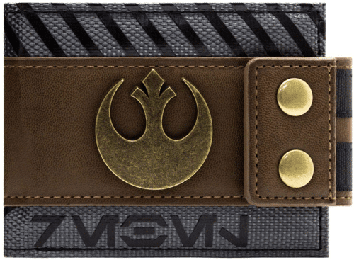 an image of a star wars bi-fold wallet - one of our picks of star wars gifts for him