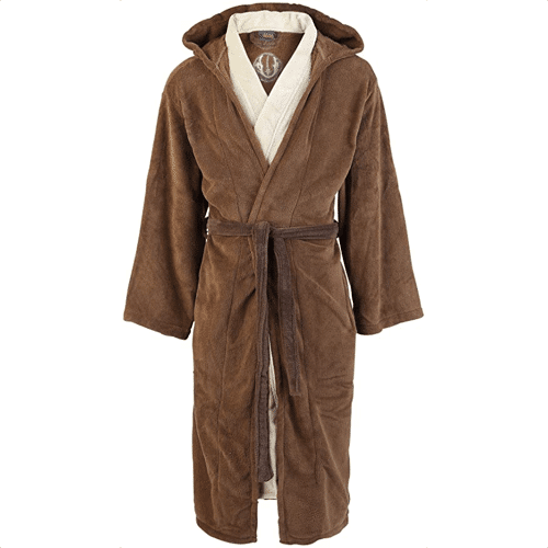 an image of a jedi star wars bathrobe - one of our picks of the best star wars gifts for men